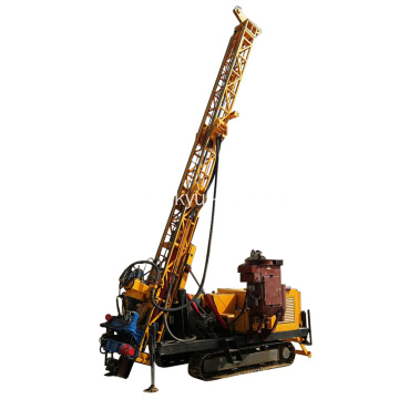 Hydraulic water well reverse circulation drilling rig